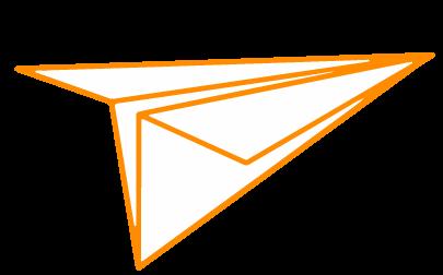 Papierflieger Icon