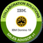 Sales Advisor Domino 10 Zerifizierung